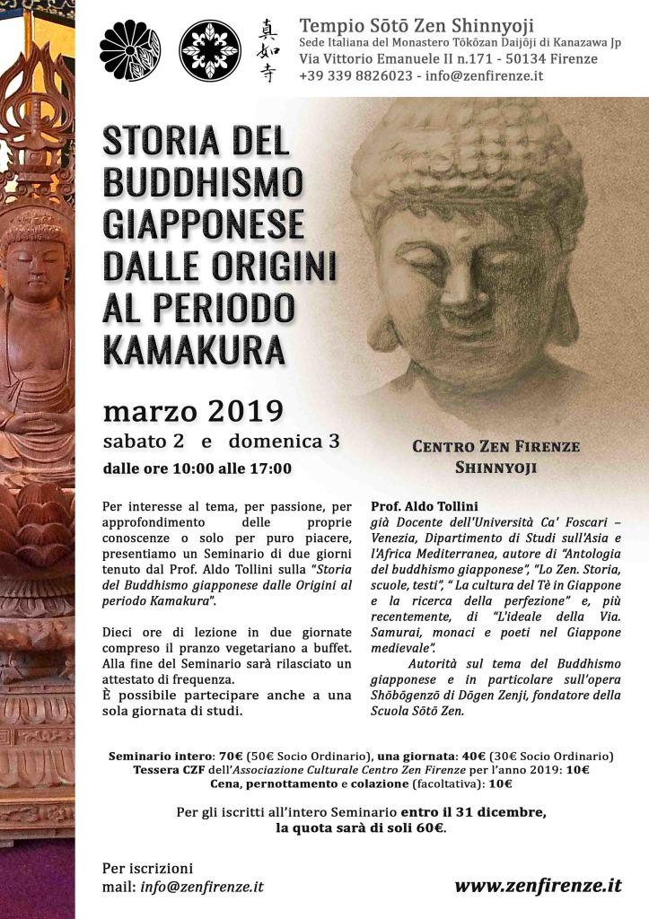 Storia del Buddhismo - Prof. Tollini - 2019w