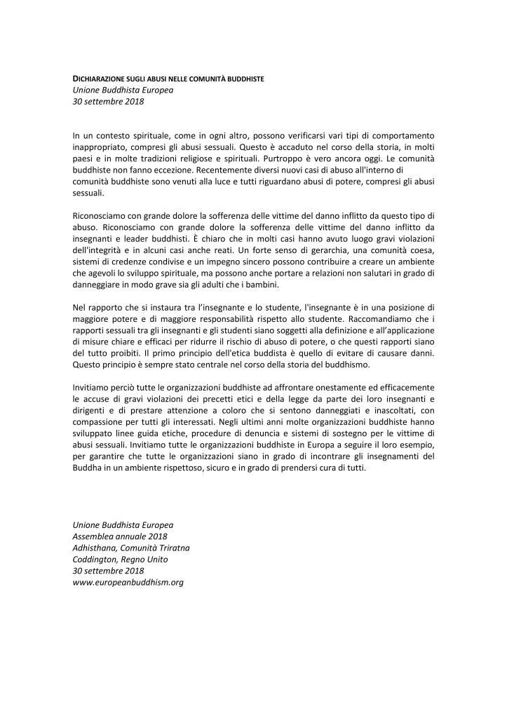 2.dichiarazione in italiano