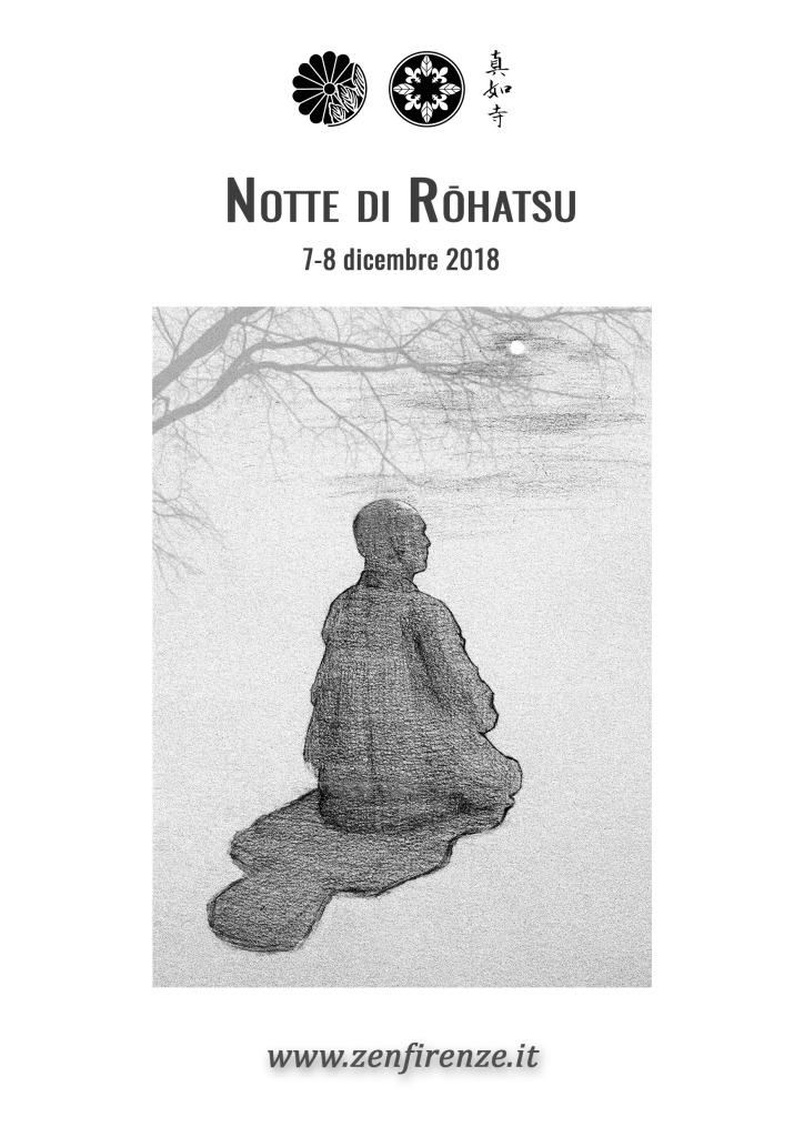 Brochure Veglia di Rōhatsu 2018 - Copertina
